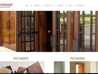 Responsive Website Development for PVC manufacturer