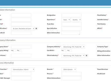 Web Application for Human Resource