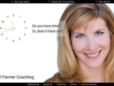 wordpress jillfarmer coaching site