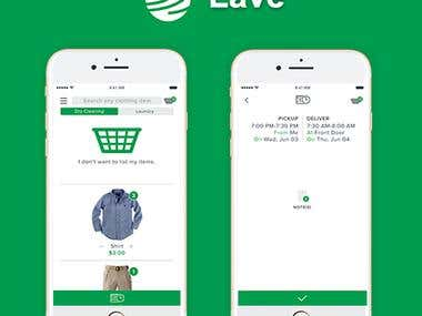 On Demand Dry cleaning App