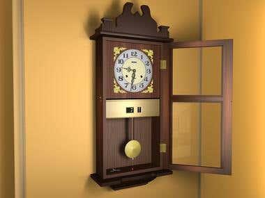 3D Wall-Clock