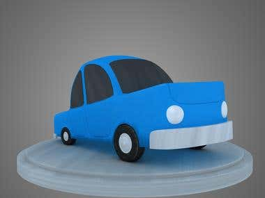 modeling cartoon car