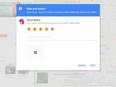 Reviews (Google)