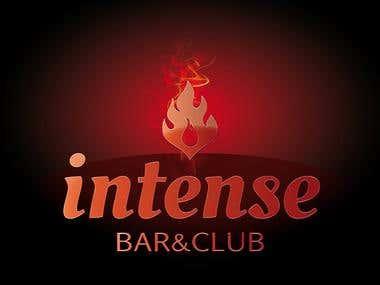 LOGO. Intense Bar&Club