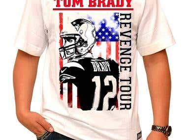 Tom Brady T Shirt