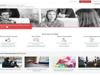 Loan Application Site