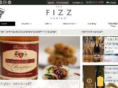 Fizz Wordpress Website Development