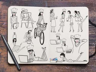 Sketch designs