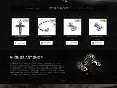 Viking art shop - viking jewellery design