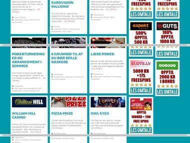 Poker Kanalen (SEO promotion for Website)