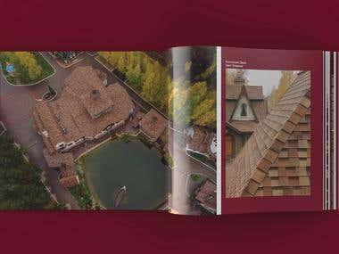 Corporate reference album of the company Tehnonikol