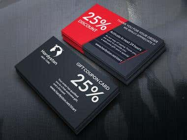 Eye caching business cards