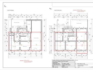 Architectural Layout and Firefighting project