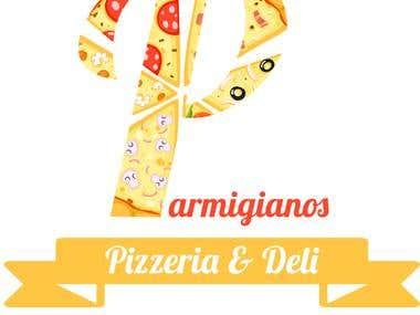 Parmigianos Pizzeria & Deli Logo