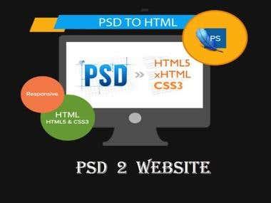 Photoshop to webiste