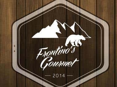 lOGO DESIGN FOR FRONTINO'S GOURMET