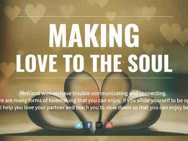 Makeinglovetothesoul.com - Wordpress