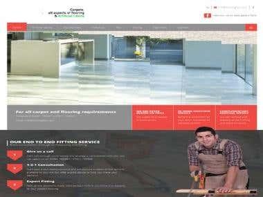 Portfolio CMS site