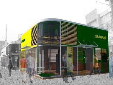 Stall design for Trade Fair