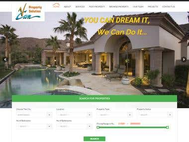 Real Estate Wordpress website wecanproperty.com