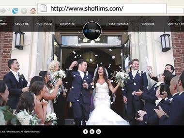 http://www.shofilms.com/ - Wordpress website