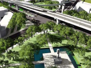 Urban street renovation_design proposal presentation