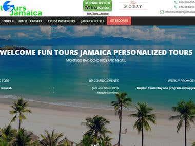 Funtours Jamaica Tour Site