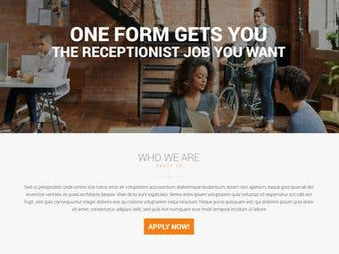 Recruitment WordPres website