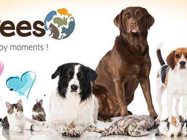 pet shop advert desing
