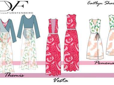 DvF mock collection