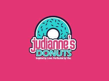 Logo Donuts Company