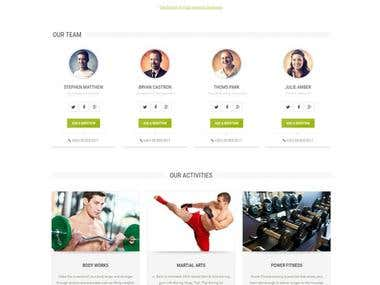 Website for sports