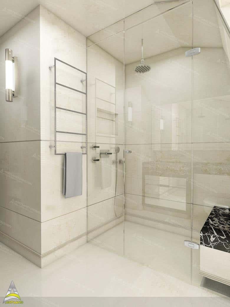 Bathroom designing and 3D visualization | Freelancer