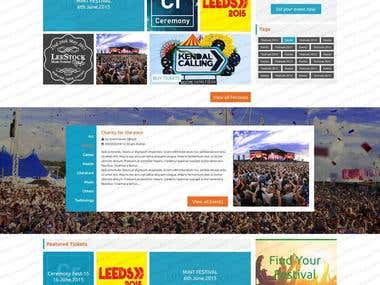 Website of Festival 4 All