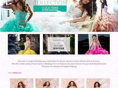 Beauty WooCommerce website