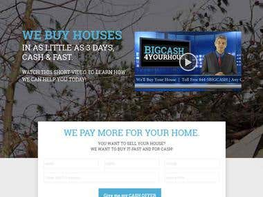 Real Estate website in WordPress