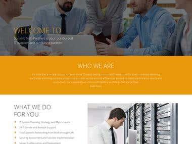 Website and Web development of consultancy website