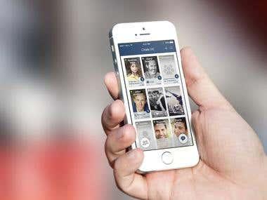 Chat app Mockup