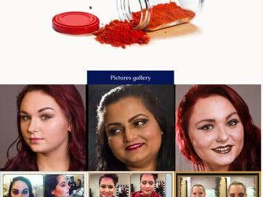 Website for Salon based in usa