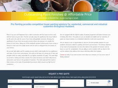 Adwords Management for painting business in auckland