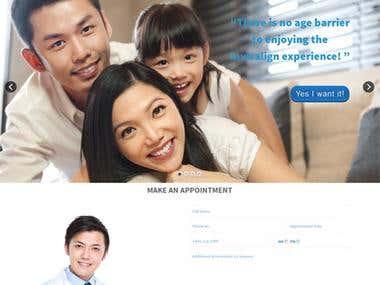 Dental Responsive WordPress website