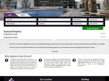 MVC Framework- Real Estate website