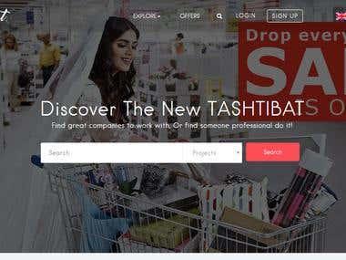Tashtibat | wordpress website