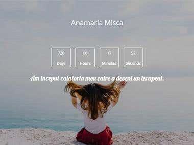 Website for Anamarina Misca