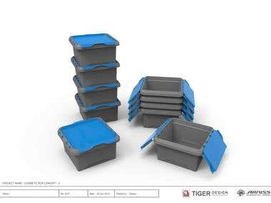 Plastic Carrier Box [Concept Design]
