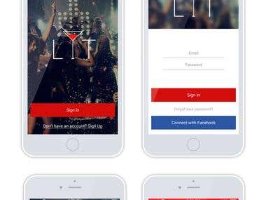 iOS and Android Mobile app developer for Bar, Disco & Hotel