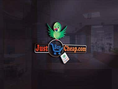 Logo for Just Bye chip.com