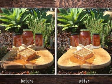 Photo Editing / Shadow correcting