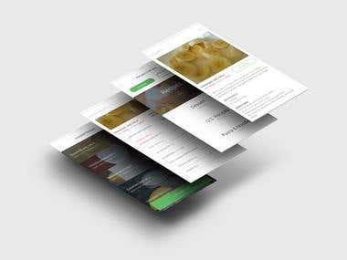 Receipts Mobile App design