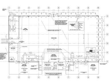 Floor Plan in AutoCAD
